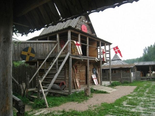 деревня викингов свенград